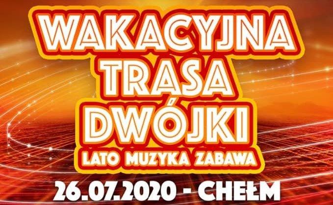Największe gwiazdy disco polo zagrają koncert w Chełmie - to kolejna odsłona największej trasy koncertowej tego roku!